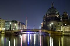 Мост Museumsinsel Берлина стоковое изображение