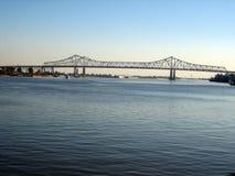 мост New Orleans стоковая фотография