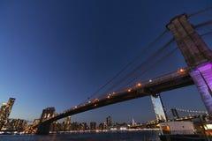мост New York стоковое фото