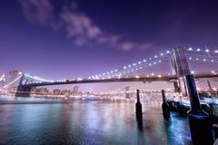 мост New York стоковое изображение