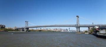 Мост New York Williamsburg Стоковое Изображение