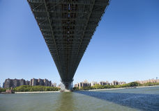 Мост New York Williamsburg Стоковое Изображение RF