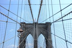 мост ny Стоковое Фото