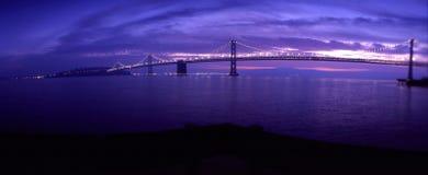 мост oakland залива стоковая фотография rf