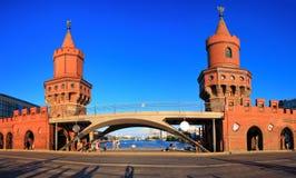 Мост Oberbaum, Германия Стоковое Фото