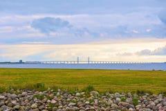 Мост Oresund стоковое фото