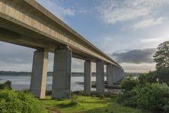 Мост Orwell в суффольке Стоковое Изображение