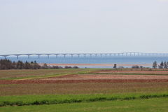 Мост p конфедерации e I Канада Стоковая Фотография RF