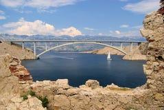 Мост Pag Стоковые Фото
