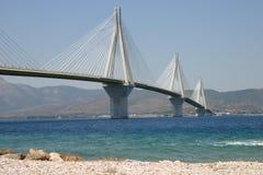 мост patras Стоковые Фото
