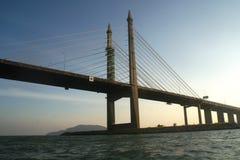 мост penang стоковое изображение rf