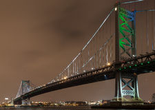 Мост Бенджамина Франклина Стоковая Фотография