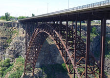Мост Perrine - Айдахо Стоковое фото RF