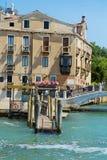 Мост Ponte del Vin в Венеции, Италии Стоковое Изображение RF
