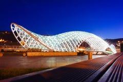 Мост Prace в Тбилиси Стоковые Изображения RF