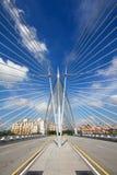 мост putrajaya зодчества Стоковое Изображение