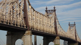 Мост Queensboro в Nyc Стоковые Изображения RF
