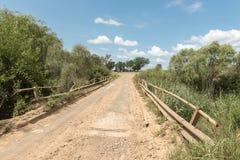 Мост R709-road через реку ветеринара Groot около эксцельсиора Стоковое Фото