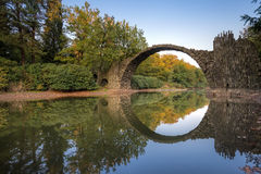 Мост Rakotz Стоковая Фотография