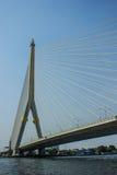 Мост Rama 8 в Бангкоке Таиланде Стоковые Фото
