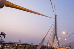 Мост Rama VIII Стоковое Изображение RF