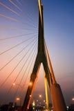 Мост Rama VIII Стоковая Фотография RF