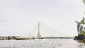 Мост Rama Vlll Стоковые Фотографии RF