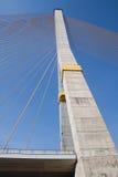 мост rama8 bangkok Стоковая Фотография