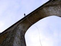мост rappelling Стоковое Изображение RF