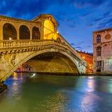 Мост Rialto, Венеция Стоковое фото RF