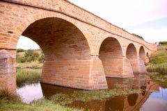 мост richmond Тасмания Австралии Стоковое фото RF