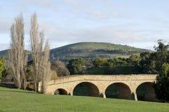 мост richmond Тасмания Австралии стоковое изображение rf
