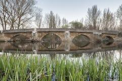 Мост Rivabellosa Стоковое Фото