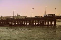 Мост rk ¼ Atatà в Стамбуле стоковое фото rf