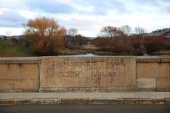 Мост Ross, деталь, Тасмания Стоковое Изображение RF