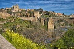 Мост ` s St Martin, Toledo, Испания стоковое фото