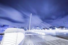 мост samuel beckett Стоковое Изображение RF