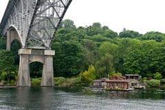 мост seattle Стоковые Фото