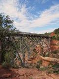 Мост Sedona Аризоны стоковые фотографии rf