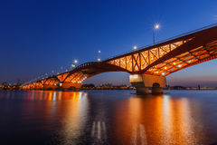 Мост Seongsan стоковая фотография