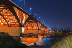 Мост Seongsan стоковое изображение