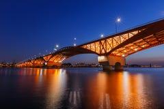 Мост Seongsan Стоковые Фотографии RF