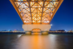 Мост Seongsan стоковое фото rf