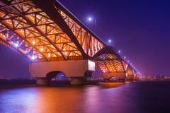 Мост Seongsan Стоковое Изображение RF