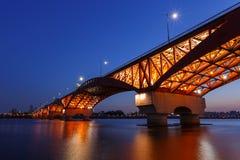 Мост Seongsan стоковые изображения rf