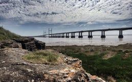 мост severn Стоковая Фотография
