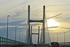 мост severn Стоковые Фотографии RF
