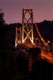 Мост Simon Kenton - Река Огайо стоковое изображение rf