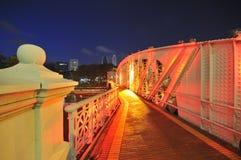 мост singapore anderson Стоковые Фотографии RF