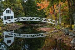 Мост Somesville Стоковое Фото